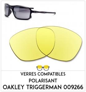 Verres de remplacement Oakley Triggerman 009266