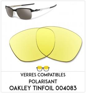 Verres de remplacement Oakley Tinfoil 004083