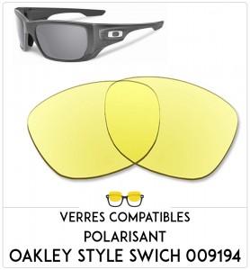Verres de remplacement Oakley Style swich 009194