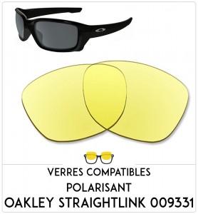 Verres de remplacement Oakley Straightlink 009331