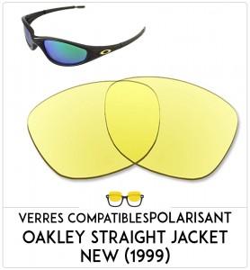 e5d3b39a69776 Verres de remplacement Oakley Straight jacket new (1999)