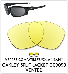 Verres de remplacement Oakley Split jacket 009099 vented