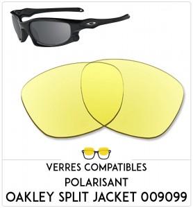 Verres de remplacement Oakley Split jacket  009099