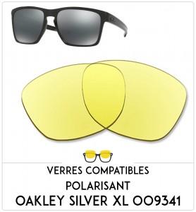 Verres de remplacement Oakley Silver xl  009341