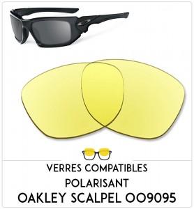 Verres de remplacement Oakley Scalpel 009095