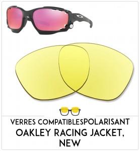 Verres de remplacement Oakley Racing jacket, new
