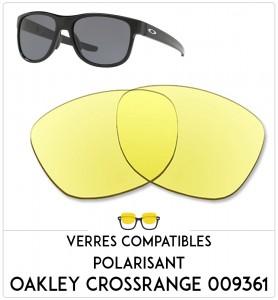Verres de remplacement Oakley Crossrange 009361