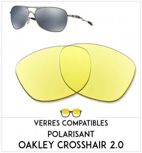 Verres de remplacement Oakley Crosshair 2.0