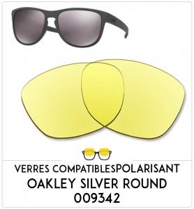 Verres de remplacement Oakley Silver round  009342