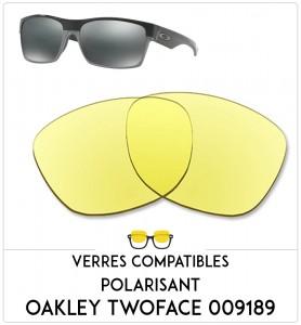 Verres de remplacement Oakley Twoface 009189