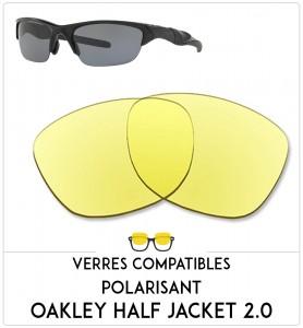 Verres de remplacement Oakley Half jacket 2.0