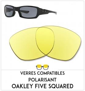 Verres de remplacement Oakley Five squared