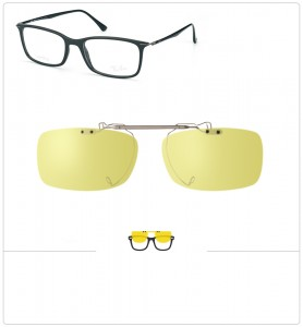 Clip relevable compatible Ray-Ban 7031-55mm