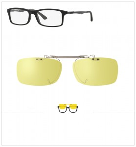 Clip relevable compatible Ray-Ban 7017-52mm