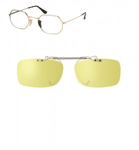Clip relevable compatible Ray-Ban 3556-53mm