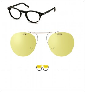 Clip relevable compatible MOSCOT FRANKIE-45mm