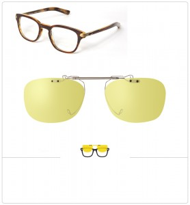 Clip relevable compatible OLIVER PEOPLES 25TH-47mm