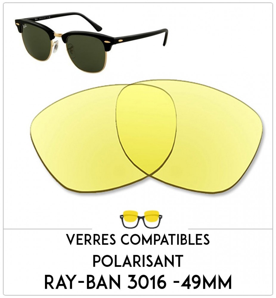 Compatible lenses Ray-Ban 3016 - 49mm b4e5ad894d0a