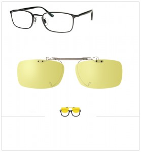 Clip relevable compatible OLIVER PEOPLES FOLLIES-49mm