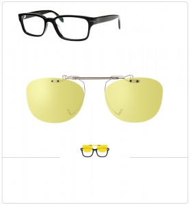 Clip relevable compatible OLIVER PEOPLES HARWELL-50mm