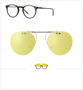Clip relevable compatible OLIVER PEOPLES O MALLEY-45mm