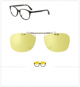 Clip relevable compatible OLIVER PEOPLES RITA-52mm