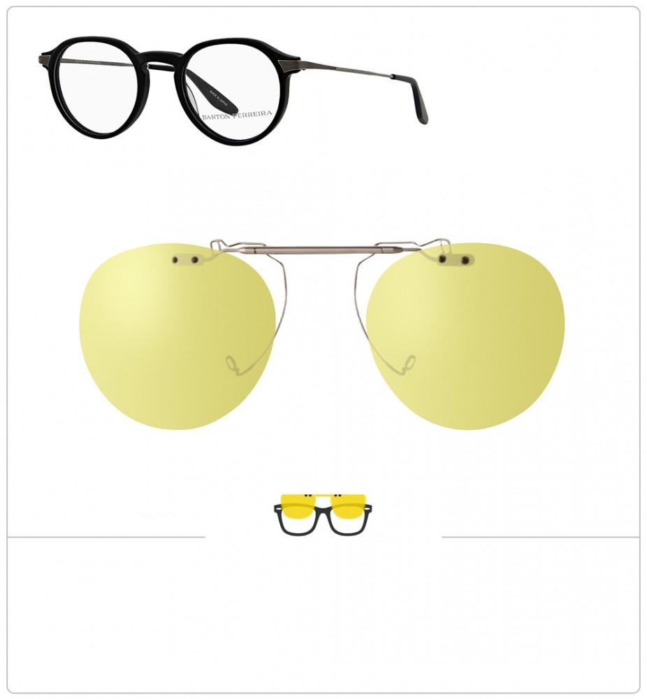 3da78674f Compatible clipon-sunglasses for BARTON PERRERA WATSON-45mm