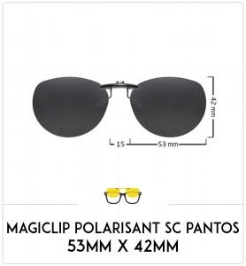 Magiclip SC PANTOS- Polarisant - 53mm x 42mm