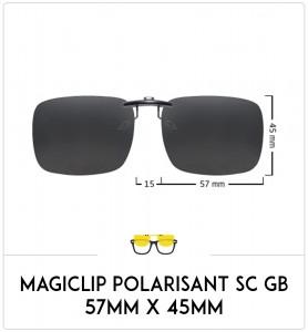 Magiclip SC GB- Polarisant - 57mm x 45mm