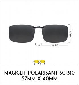copy of Compatible clipon-sunglasses for Ray-Ban 3532V-47mm