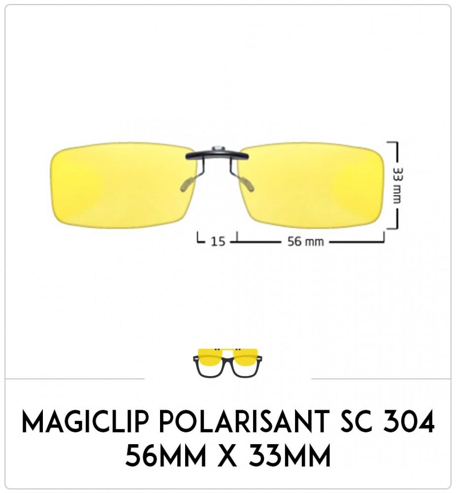 Magiclip SC 304 - Polarisant - 56mm x 33mm