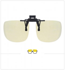 Compatible clipon-sunglasses for Ray-Ban 9060-50mm