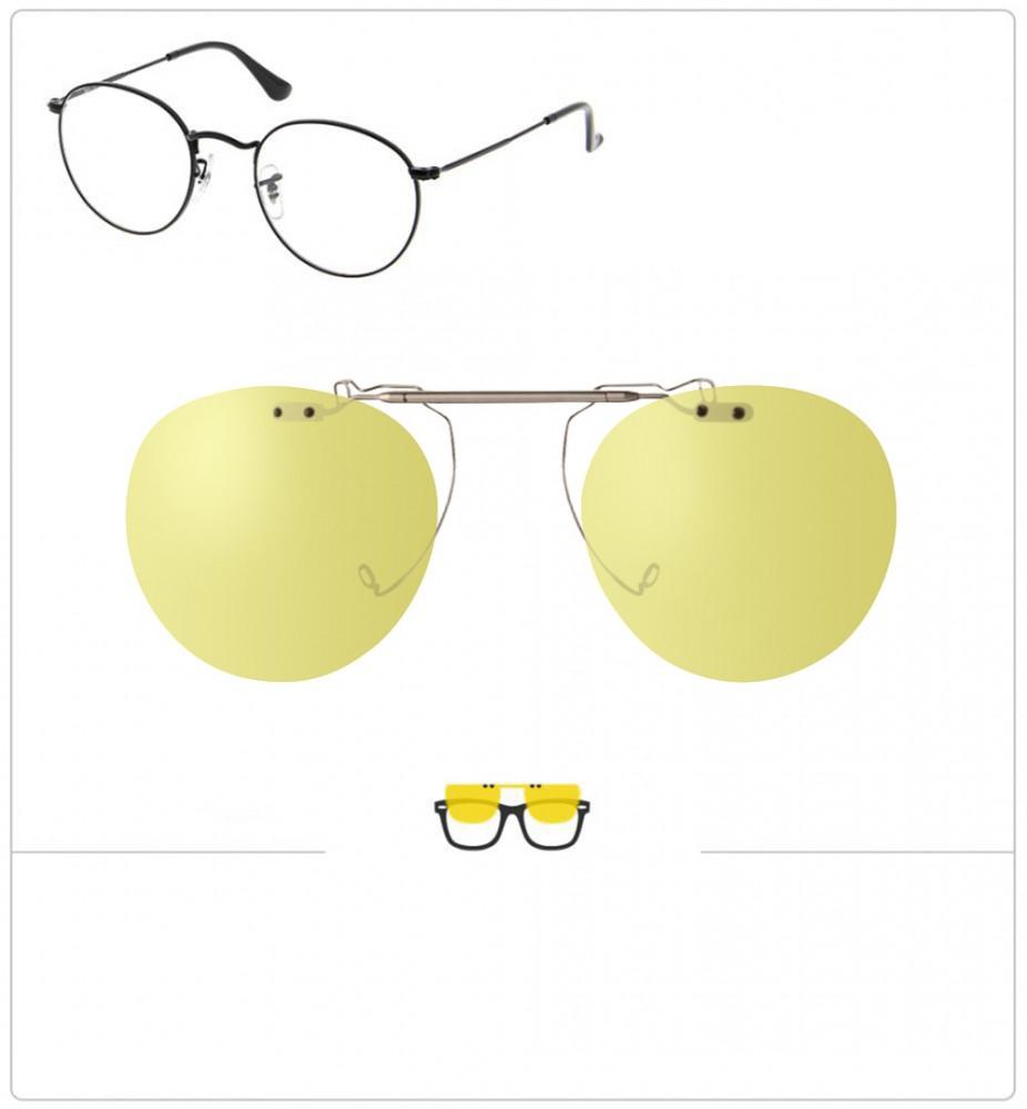 02b8ada2f Compatible clipon-sunglasses for Ray-Ban 3447-50mm