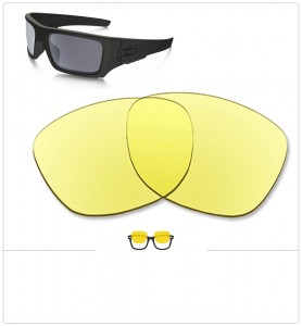 Compatible lenses for Oakley Det cord