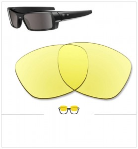 Compatible lenses for Oakley Gascan small