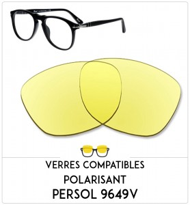 Compatible lenses for Persol 9649V-50mm