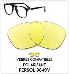 Verres compatible Persol 9649V-50mm