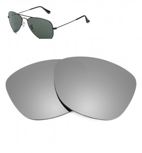 Verres de remplacement Ray-Ban 3044 - 52mm
