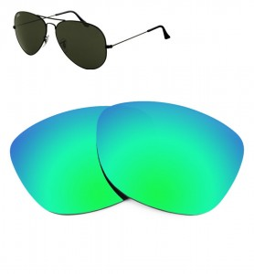 Verres de remplacement Ray-Ban 3025 - 55mm
