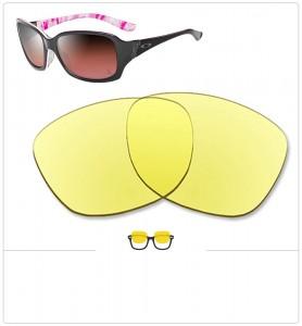 Compatible lenses for Oakley Discreet