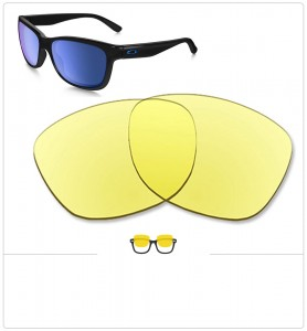 Compatible lenses for Oakley Forehand