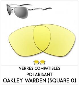 Verres de remplacement Oakley warden(square o)
