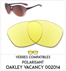 Verres de remplacement Oakley Vacancy 002014