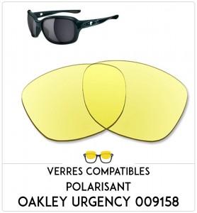 Verres de remplacement Oakley Urgency 009158