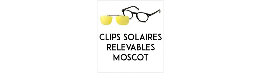 Flip-up clip-on-sunglasses  - Compatible Moscot | Changer mes Verres