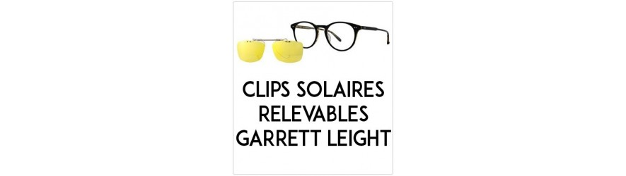 Flip-up clip-on-sunglasses  - Compatible Garett-Leight