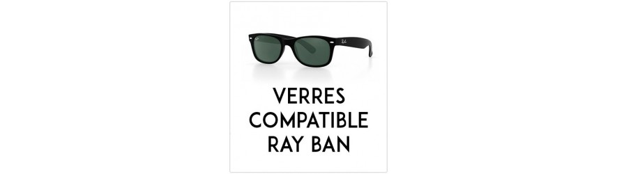 Verres solaires - Compatibles Ray Ban | Changer mes Verres