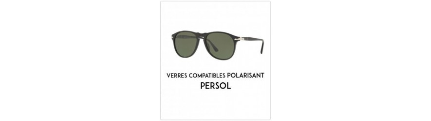 Verres Polarisant - Compatibles Persol | Changermesverres