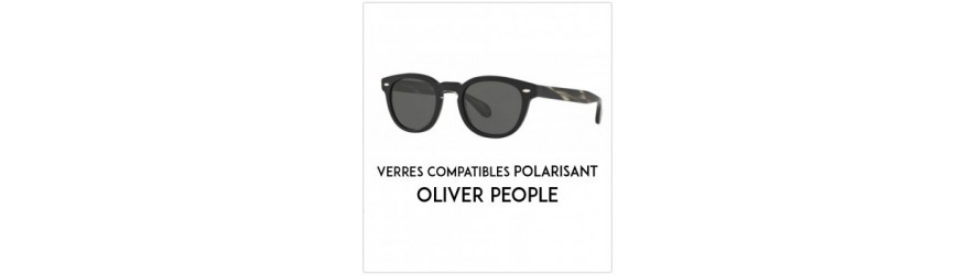 Polarized lenses - Compatible Oliver Peoples frames | Changer mes Verr