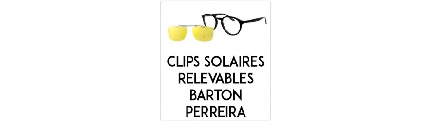 Flip-up clip-on-sunglasses  - Compatible Barton Perrera